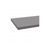 TABLETTE EN BOIS 2400X600X18MM GRIS