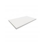 TABLETTE EN BOIS 1200X400X22MM BLANC LAQUE 2COTE