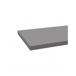 TABLETTE EN BOIS 1200X350X22MM GRIS