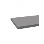 TABLETTE EN BOIS 1240X400X22MM GRIS