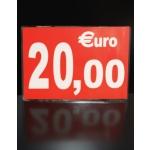 CARTONNETTE PLASTIFIEE 20€